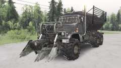 KrAZ-255B Mad Max for Spin Tires