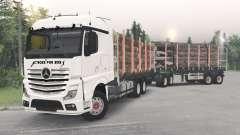 Mercedes-Benz Actros (MP4) for Spin Tires