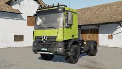Mercedes-Benz Arocs AS 4xꝜ for Farming Simulator 2017