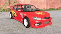 Hirochi Sunburst Lightning McQueen for BeamNG Drive