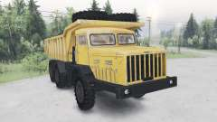 MAZ-530 yellow color for Spin Tires