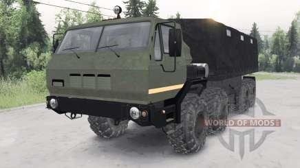 KrAZ-7E-6316 Сибиƥь for Spin Tires