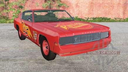 Gavril Barstow Lightning McQueen for BeamNG Drive
