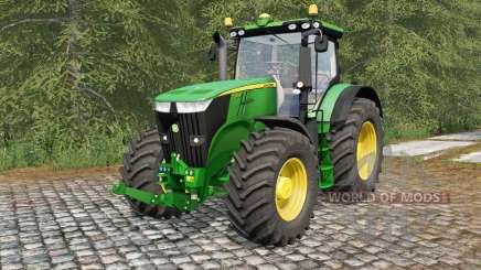 John Deere 7280R and 7310R for Farming Simulator 2017