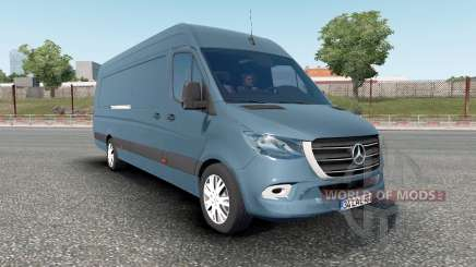 Mercedes-Benz Sprinter VS30 Van 316 CDI 2019 for Euro Truck Simulator 2