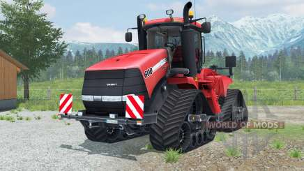 Case IH Steiger 600 Quadtrac round lighting for Farming Simulator 2013