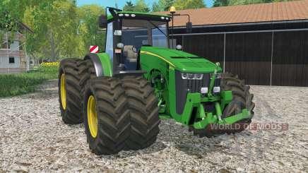 John Deere 8370Ꞧ for Farming Simulator 2015