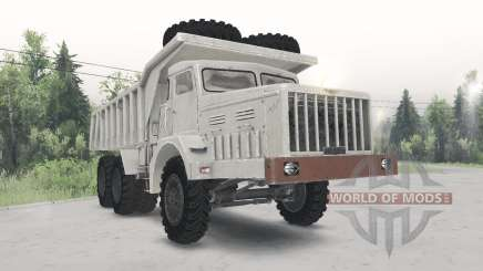 The MAZ-530 is a light beige color for Spin Tires