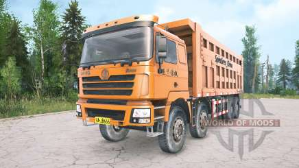 Shacman F3000 four-axle for MudRunner