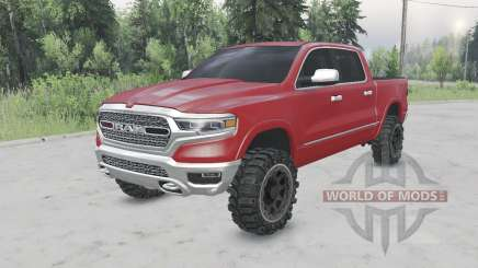 Ram 1500 Crew Cab (DT) 201୨ for Spin Tires