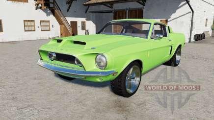 Shelby ԌT500 1968 for Farming Simulator 2017
