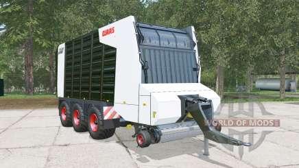 Claas Cargos 9500 blacƙ for Farming Simulator 2015