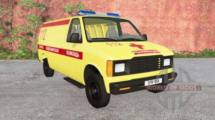 Gavril H-Series Ambulance v1.2 for BeamNG Drive