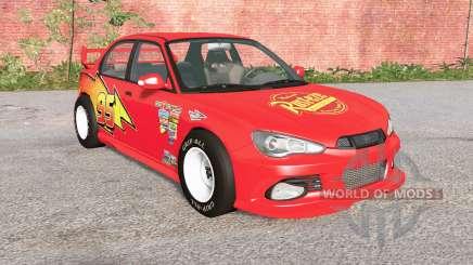 Hirochi Sunburst Lightning McQueen for BeamNG Drive