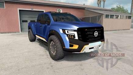 Nissan Titan Warrior concept 2016 for American Truck Simulator
