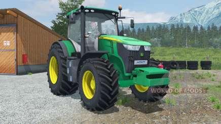 John Deere 7280Ꞧ for Farming Simulator 2013