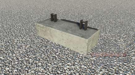 Concrete Weighᵵ for Farming Simulator 2017