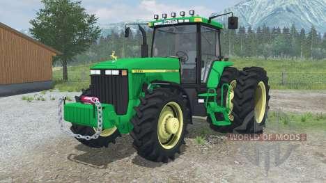 John Deere 8400 for Farming Simulator 2013