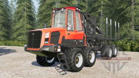 Komatsu 875 for Farming Simulator 2017