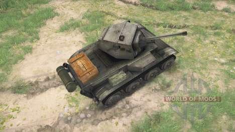 Light Tank Mk.VII (A17) Tetrarch for Spintires MudRunner