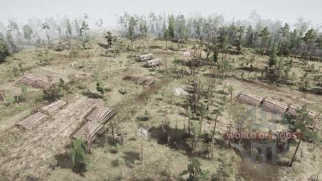 The mountain-head for Spintires MudRunner