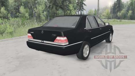 Mercedes-Benz S600 (W140) 1996 for Spin Tires
