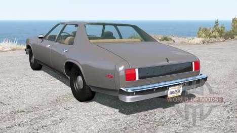 Bruckell Moonhawk sedan for BeamNG Drive