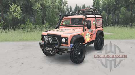 Land Rover Defender 90 for Spin Tires