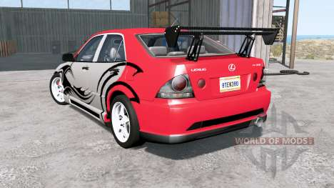 Lexus IS 300 (XE10) 2001 for BeamNG Drive