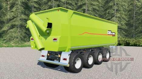 Peecon Cargo 62000 for Farming Simulator 2017