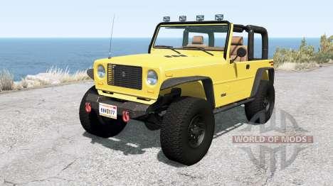 Ibishu Hopper Full-Time 4WD v1.0.1 for BeamNG Drive