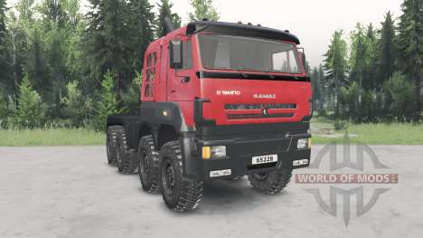 KamAZ-65228 for Spin Tires
