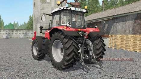 Massey Ferguson 6600-series for Farming Simulator 2017