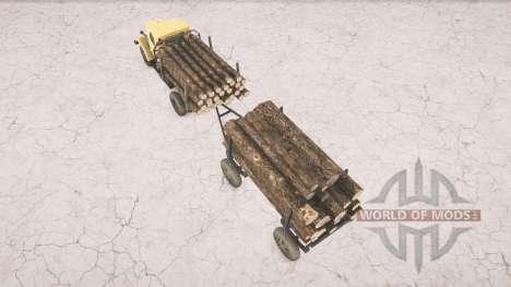 GAZ-51 for Spintires MudRunner
