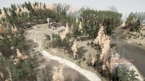 In the Russian provinces v0.95 for Spintires MudRunner