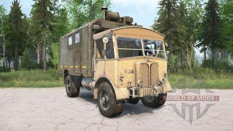 AEC Matador 853 for Spintires MudRunner