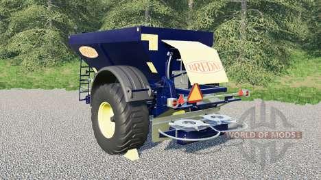 Bredal K105 for Farming Simulator 2017