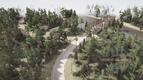 Man made two great films valley for Spintires MudRunner