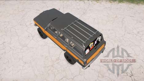 Jeep Grand Wagoneer 1991 for Spintires MudRunner