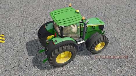 John Deere 7270R for Farming Simulator 2017