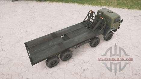 KamAZ-63501 Multilift for Spintires MudRunner