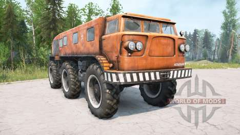 ZIL-Э167 1963 for Spintires MudRunner
