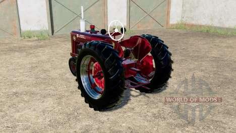 McCormick-Farmall Super M for Farming Simulator 2017