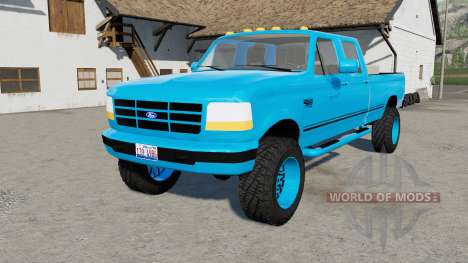 Ford F-350 Powerstroke XLT Crew Cab 1996 for Farming Simulator 2017