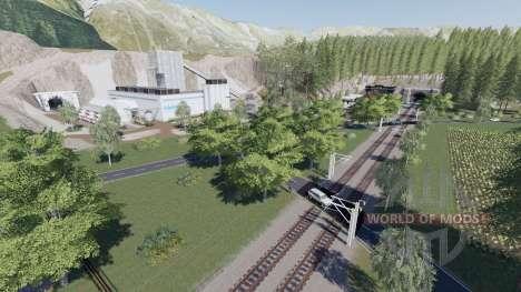 Ammergauer Alpen for Farming Simulator 2017