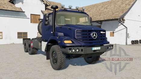 Mercedes-Benz Zetros 3643 6x6 for Farming Simulator 2017