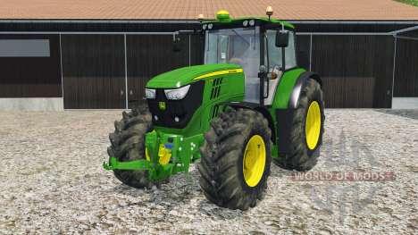John Deere 6170M for Farming Simulator 2015