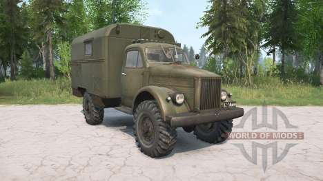 The GAZ-63 for Spintires MudRunner