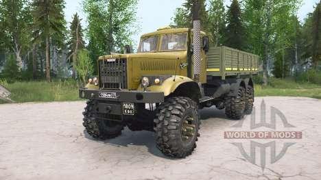 KrAZ-255B for Spintires MudRunner