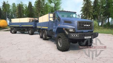 Ural Next for Spintires MudRunner